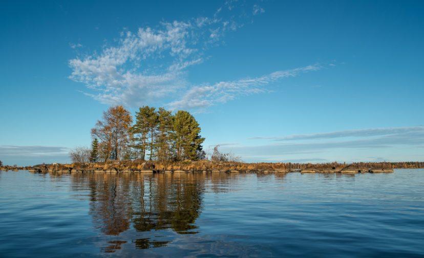 Rahjan saaristo on yksi Natura-alueista.