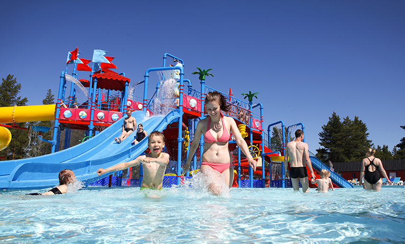 Matkailusivustolta löytyy tietoa aktiviteeteista. Jukuparkissa viihtyy koko perhe.