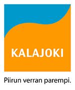 """Kalajoen logoon voi yhdistää myös kaupungin sloganin """"Piirun verran parempi""""."""
