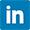 Linkedin logo 30 x 30 px