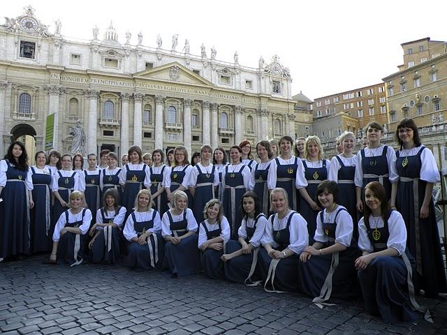 Fermaatti kuoro Roomassa