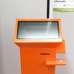 Itseilmoittautumisautomaatti