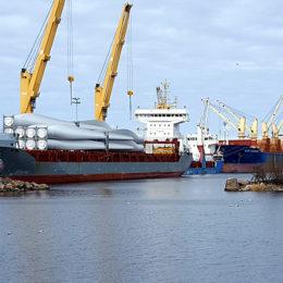 Kalajoen sataman tuonti ja vienti kasvanut voimakkaasti.
