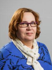 henkilöstön edustaja Hanna Nikupaavo