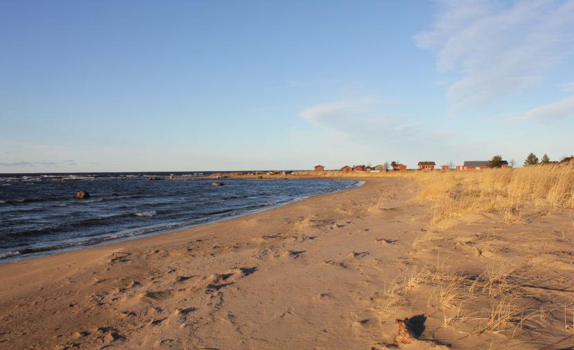 Kuva hiekkarannalta