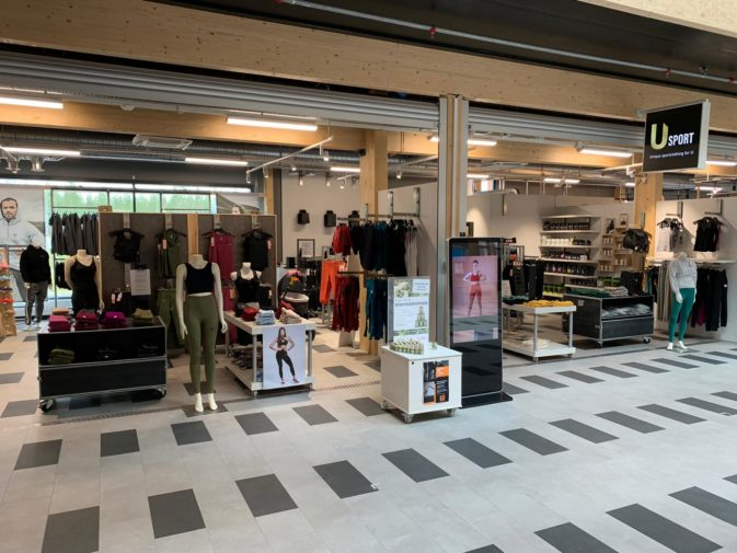 Usport store at Kalajoki