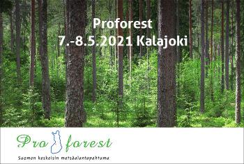 Metsakonealan Suurtapahtuma Proforest Jarjestetaan Jatkossa