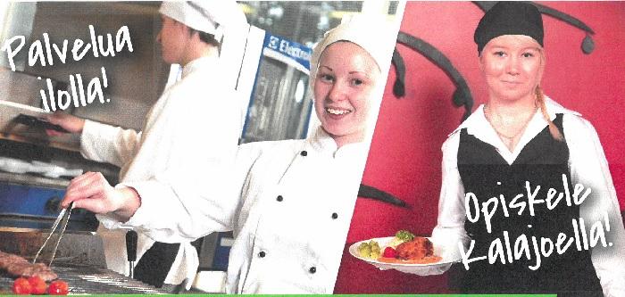 Ravintola- ja Catering-alan perustutkinto Kalajoella