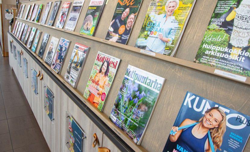 Pääkirjaston lehtihylly