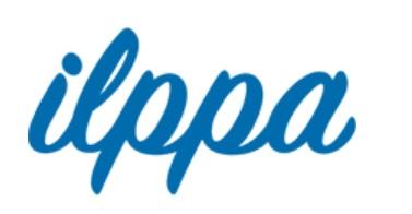 ilppa - terveysvalvonnan sähköisen ilmoituspalvelun logo