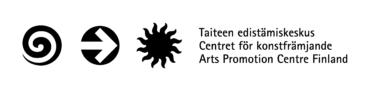 Taiteen edistämiskeskuksen logo ja teksti